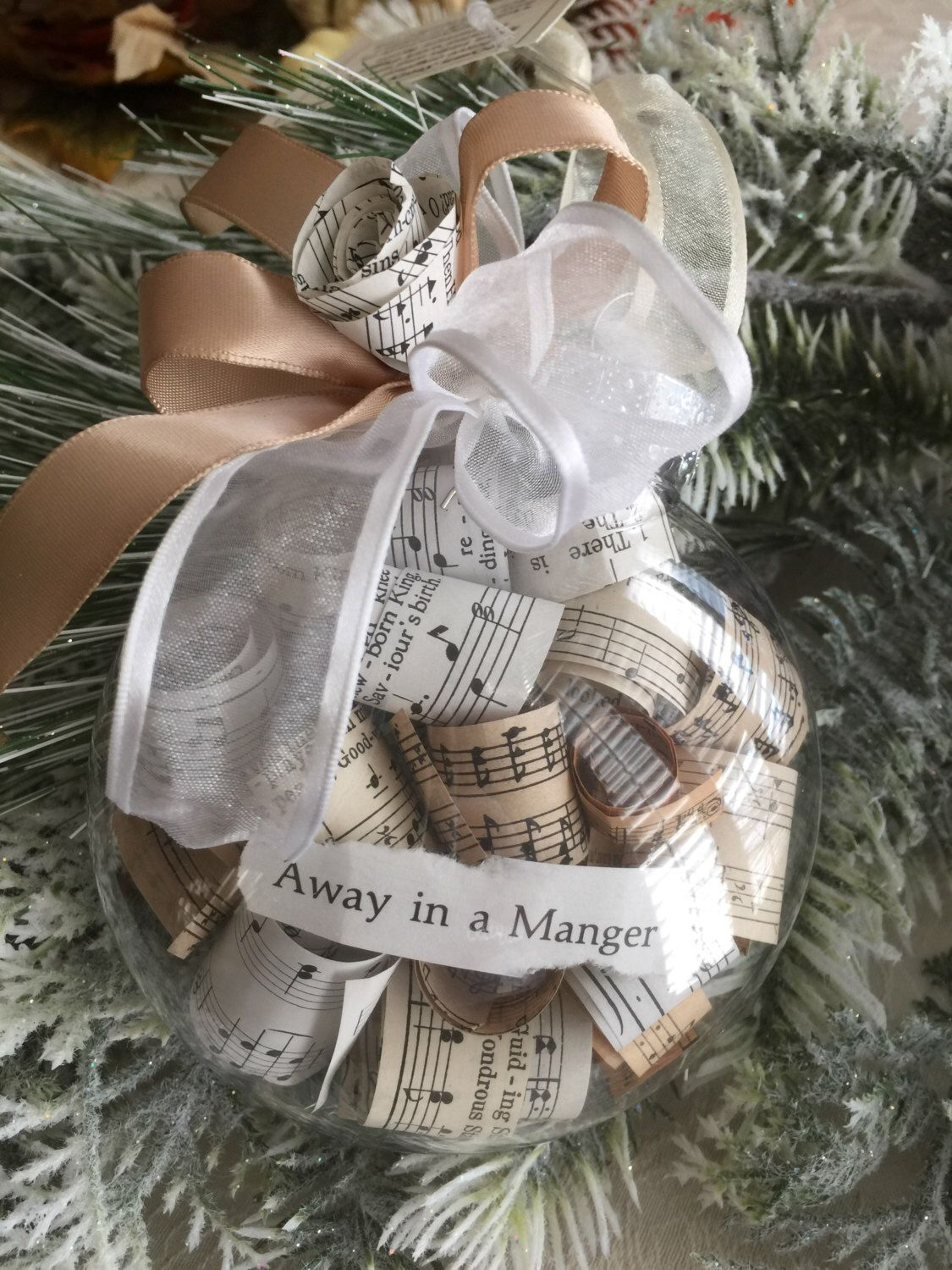 Hymn Story Ornaments - Holiday Collection by TheHymnLady on Etsy https://www.etsy.com/listing/487443983/hymn-story-ornaments-holiday-collection