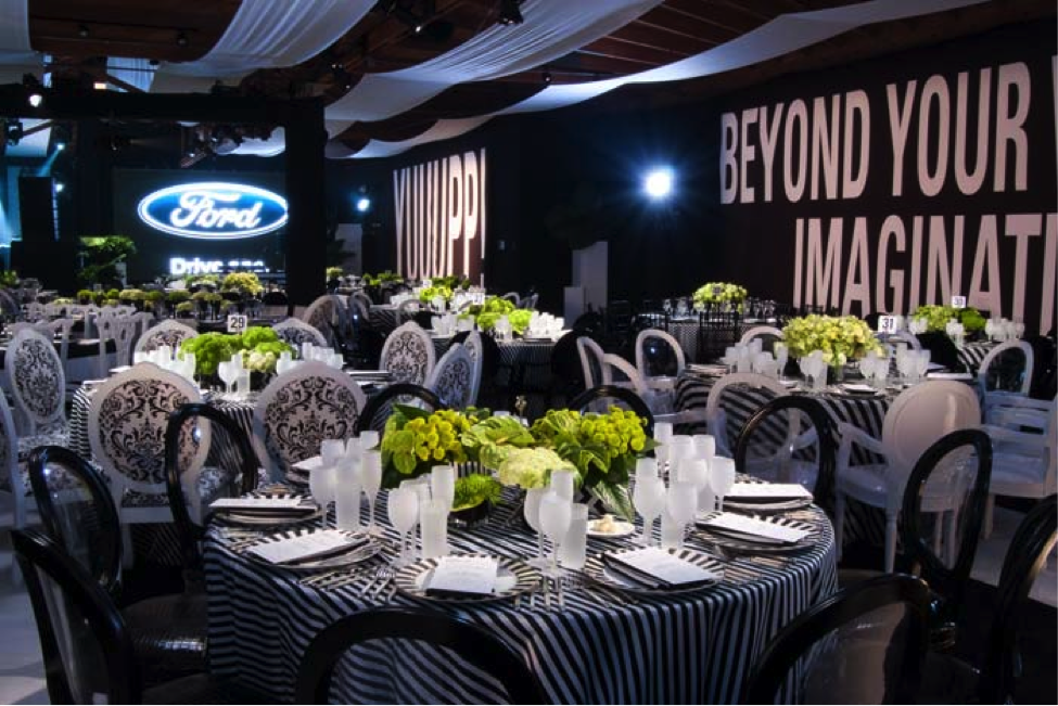 Black And White Inspired Event Corporate Events Decoration Event Decor Dinner Event