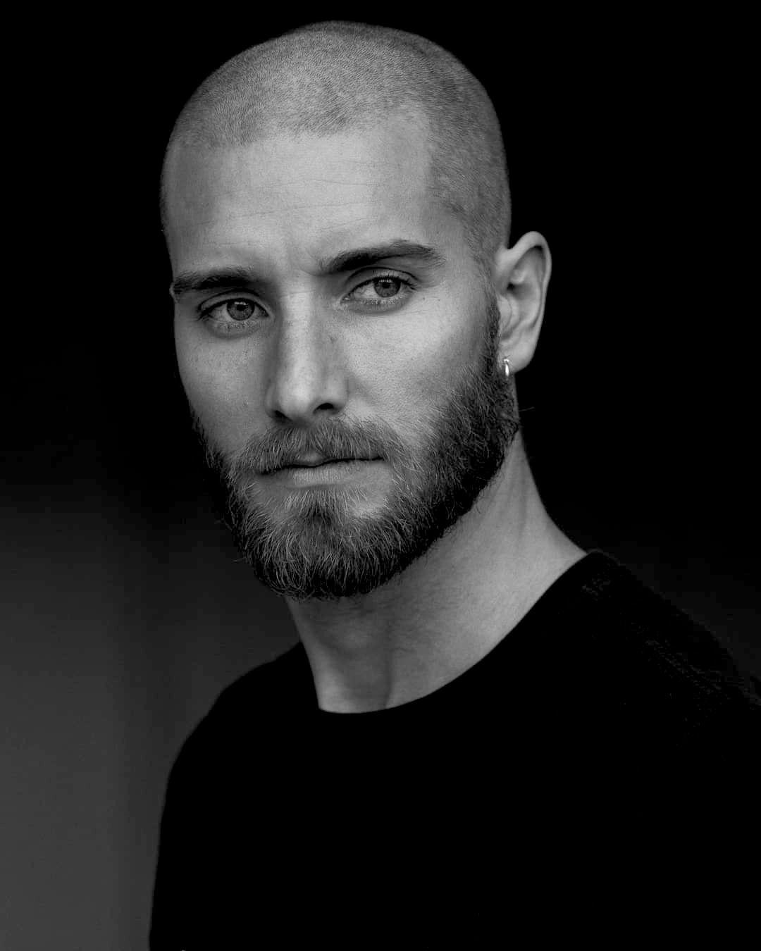 Sweet Lord Long Hair Styles Men Bald With Beard Beard Styles Short