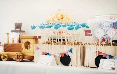 Comida cumpleanos infantil celebraciones trains birthday party birthday y birthday parties - Cumpleanos infantiles comida ...