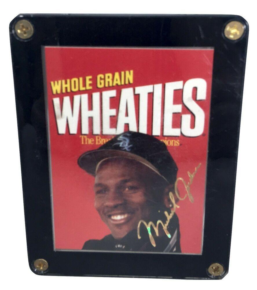 Michael jordan 199495 wholegrain wheaties sports star