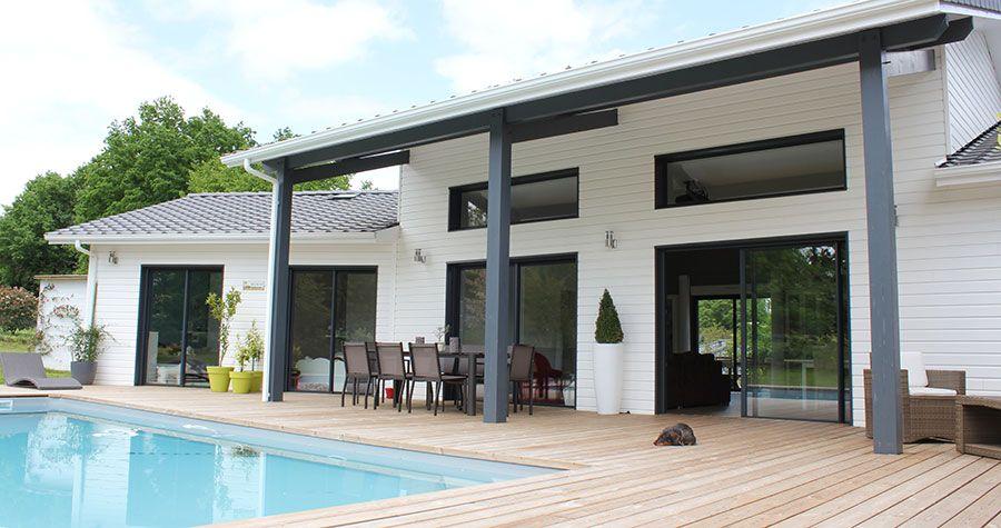En Gironde, une maison Bois design et confortable | maisons ...