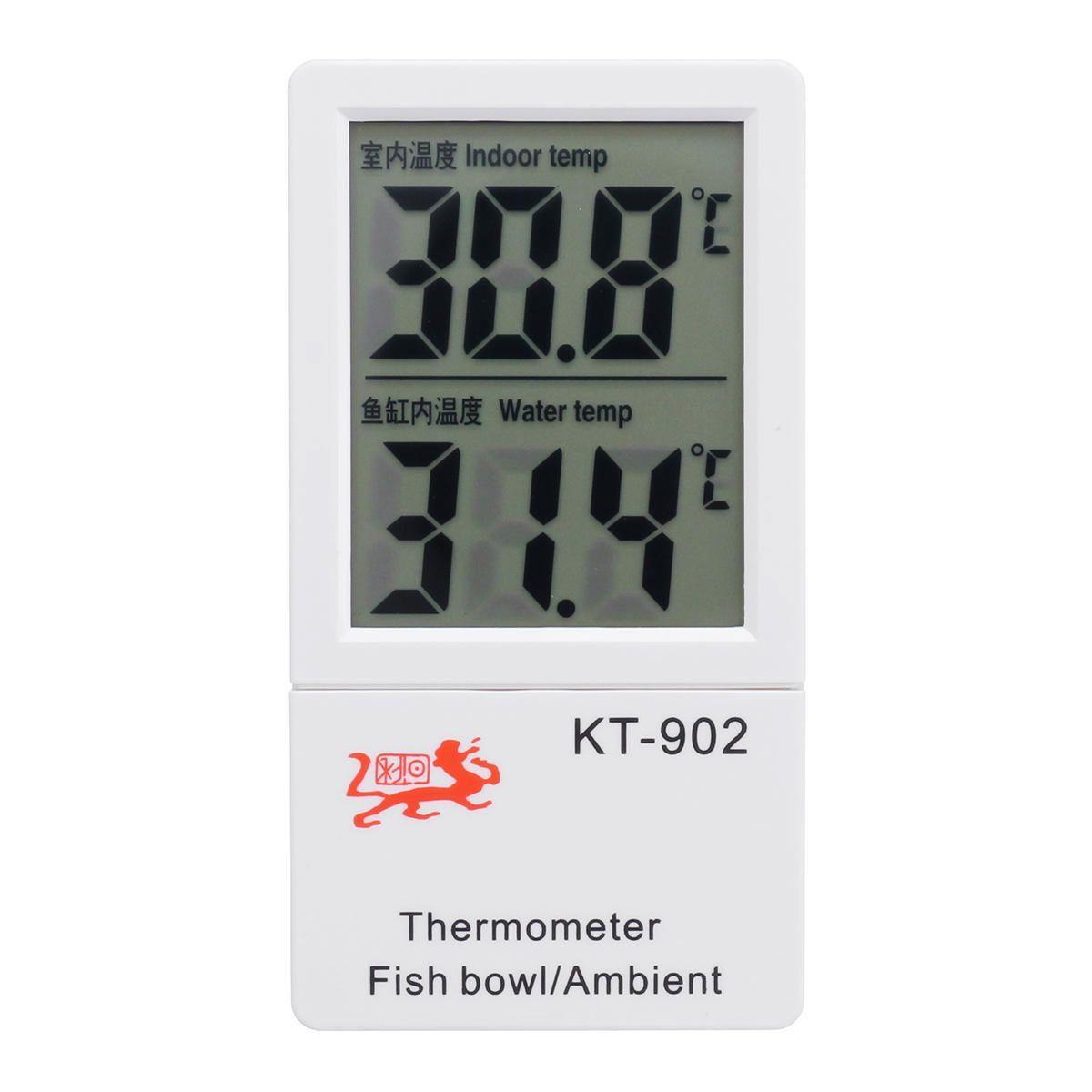 Digital LCD Aquarium Marine Fish Tank Water Thermometer