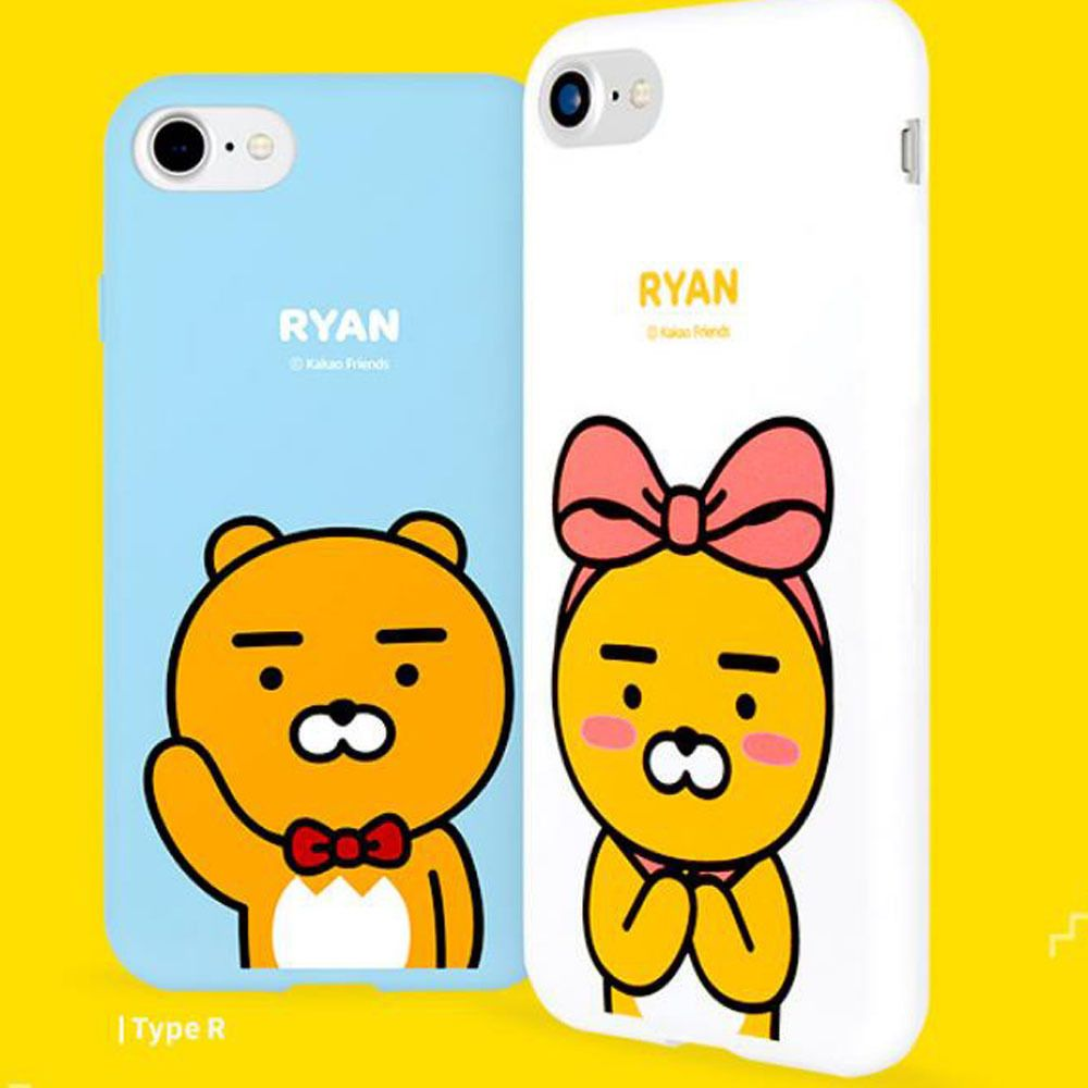 Details about Kakao Friends Cutie Soft Jelly Case for