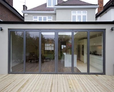 What To Expect From Your New Patio Door Kravelv House Extension Design House Extensions Flat Roof Extension