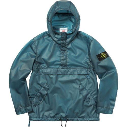 magasin en ligne 8a067 eabe4 BNWT Supreme x Stone Island F/W 17 Composite Anorak Jacket ...