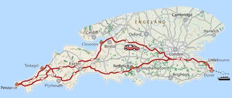 12 Daagse Rondreis Zuid Engeland In Het Spoor Van King Arthur