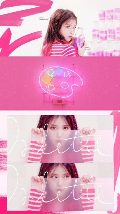 Iu Palette Mv Kpop Girls Debut Photoshoot Candy Girl