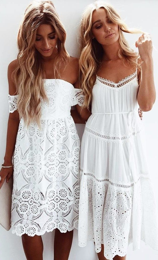 8016a1252af55f3 40 Summer Outfits: What To Wear In 100-Degree Weather   Платье ...