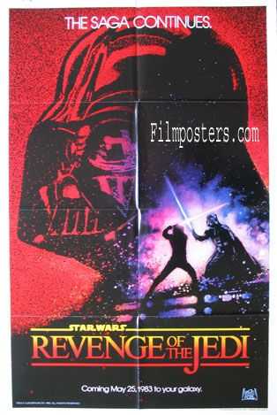 REVENGE OF THE JEDI (Return of the Jedi) Movie Poster (1983) || SCI-FI Movie Posters @ FilmPosters.Com - Vintage Movie Posters and More