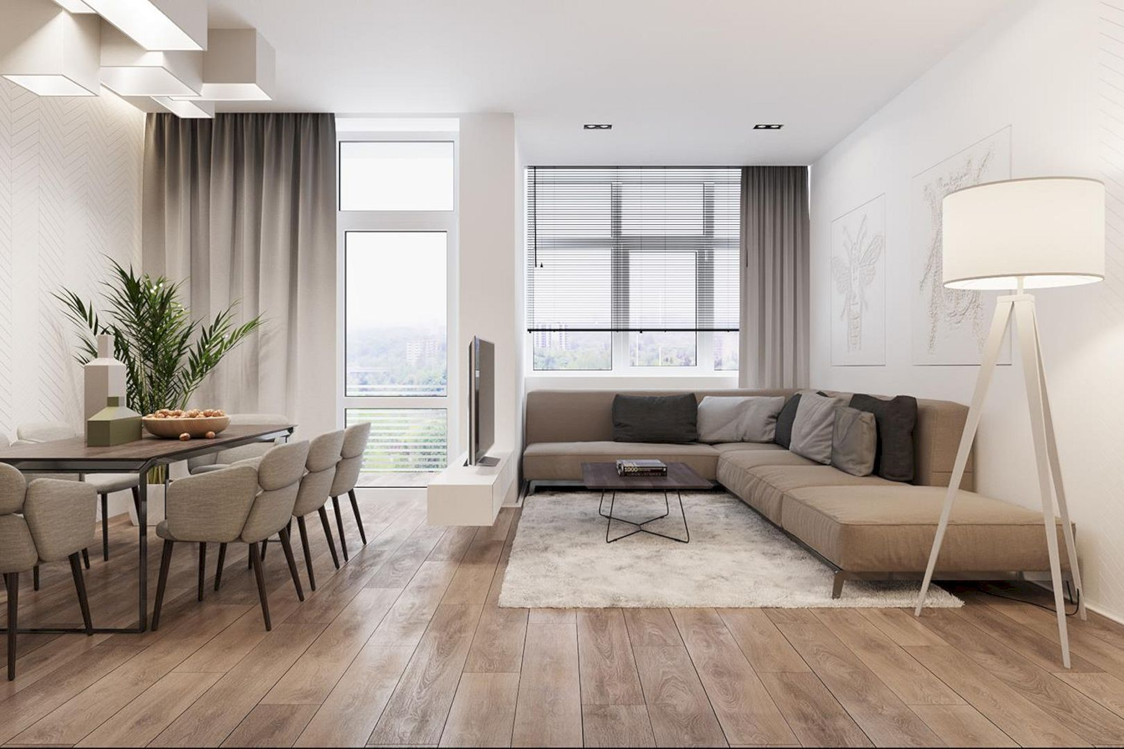 Intelligence A Modern Apartment With An Open Space Concept Design