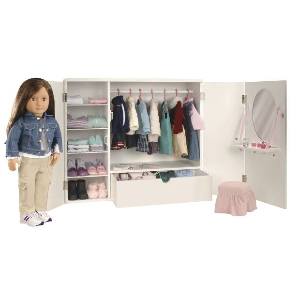 Our Generation Aka Faux American Girl Closet Affordable At A Little