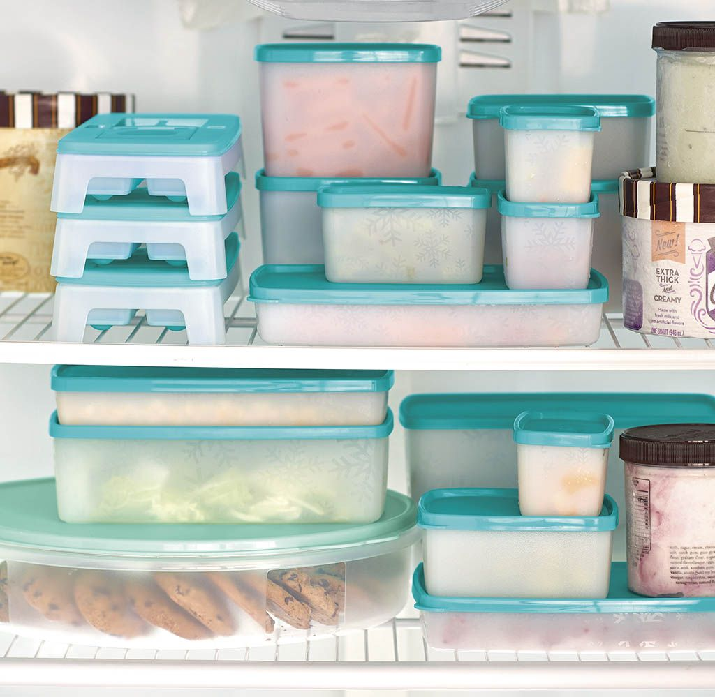 Freeze It Containers Don T Let The Name Fool You These Marvelous Multitaskers Are Fit For Fridge Freeze Tupperware Recipes Tupperware Tupperware Organizing