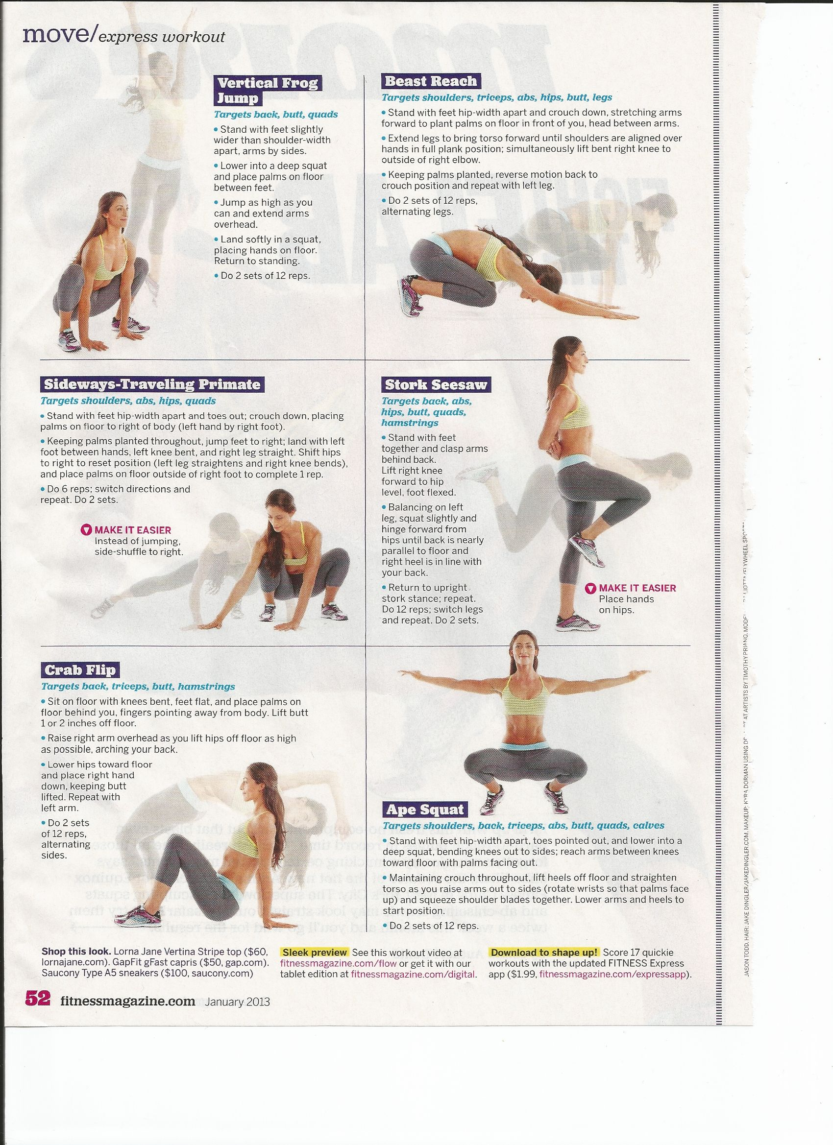 Express workout, great cardio workout! Get yourself in the