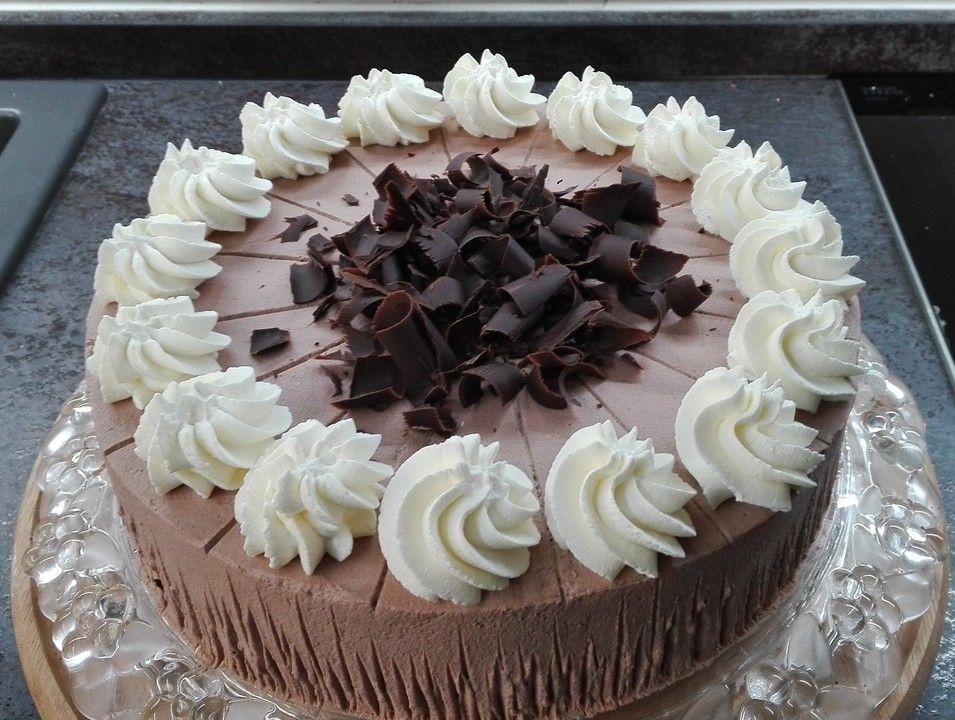 Schoko - Sahne - Torte von inlovegirl | Chefkoch