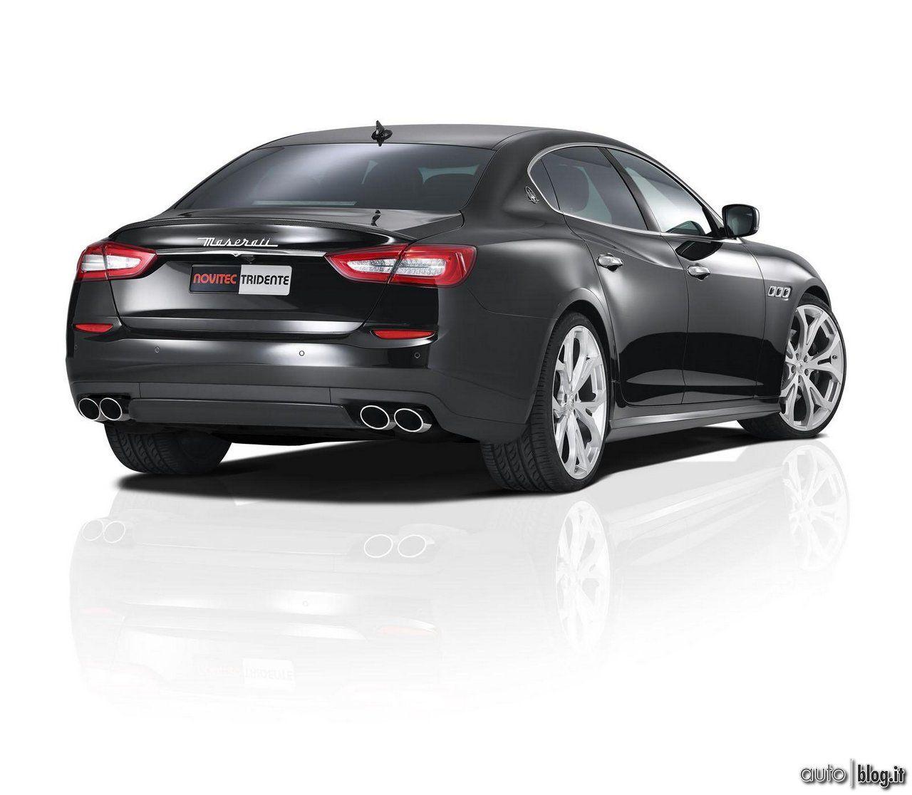 Maserati Quattroporte Novitec Tridente