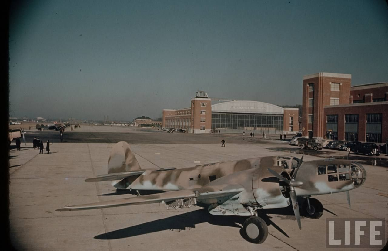 Martin A22 Maryland Aircraft, Wwii, Building