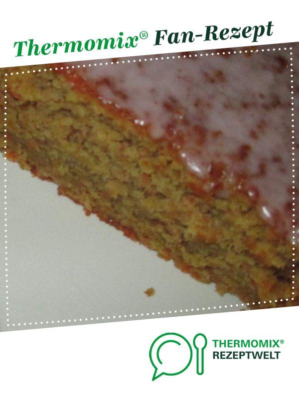 Karottenkuchen mit Haferflocken von Bia-Piranha. Ein Thermomix ® Rezept aus der Kategorie Backen süß auf www.rezeptwelt.de, der Thermomix ® Community.