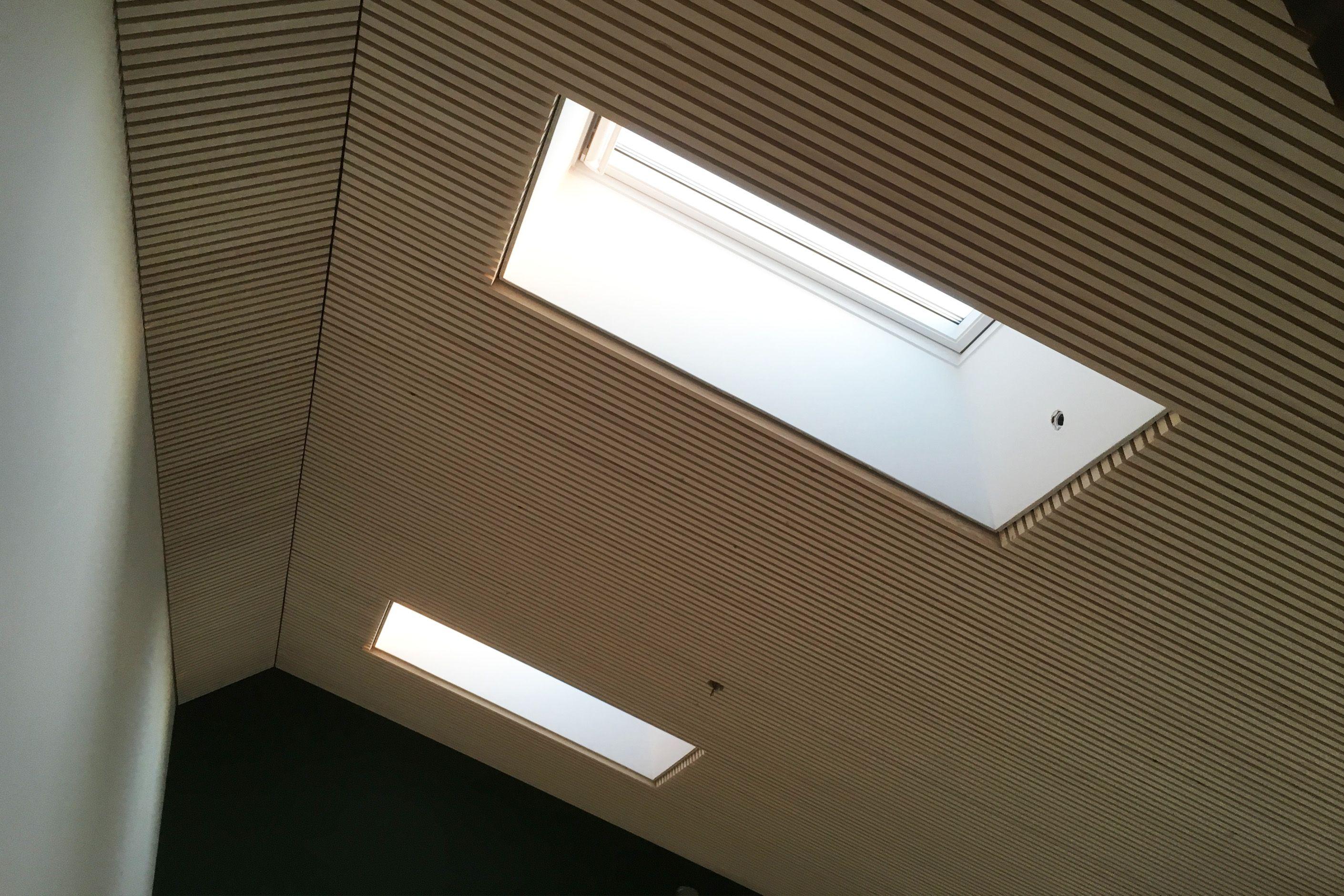 Fantastisk listeloft.nu / akustik lofter i træ lister | listeloft.nu HB22