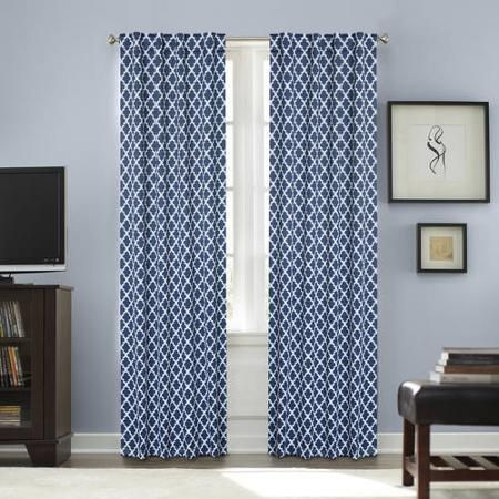 Better homes and gardens tangier printed thermal 99 - Better homes and gardens curtain rods ...