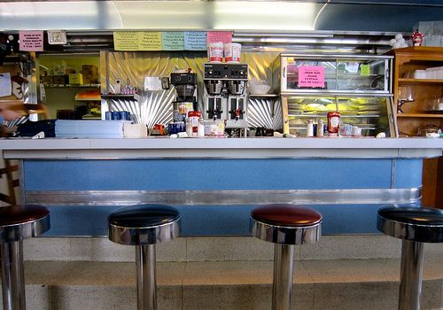 CLOSED 2014 Ernie Rissers Family Restaurant Vintage Diner Womelsdorf PA