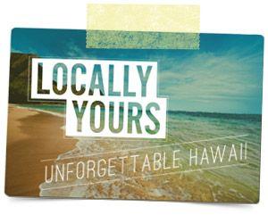 hawaiian postcard + tape