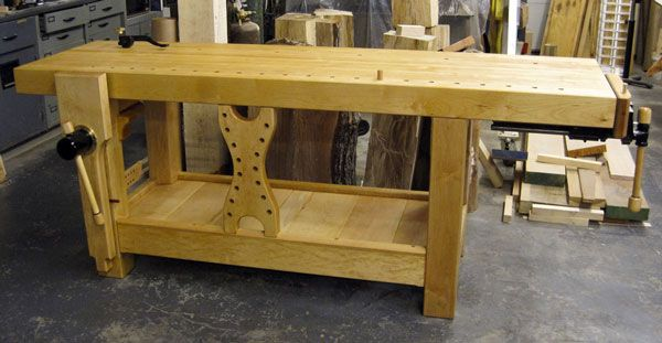 2012 Workbench Of The Month Wood Vise Screw And Wooden