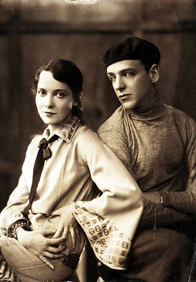Adele Astaire and brother, Fred
