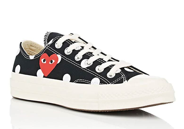 END. Features | Comme des Garcons Play x Converse are Back