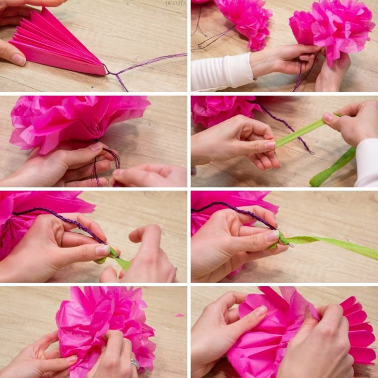 10 Diy Paper Flowers And Easy Tutorials How To Make Spring