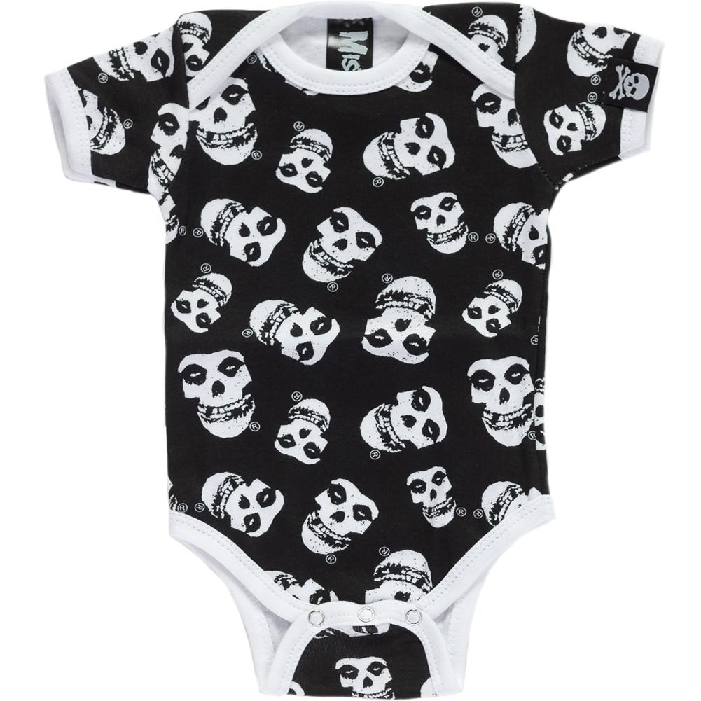 1141b66b921e2 ... baby and kids wear! Inked Boutique - Misfits One Piece Punk Rock Music  Skulls www.inkedboutique.com