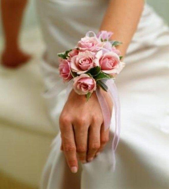 Pink Rose Wrist Corsage Weddings Prom Or By BrideinBloomWeddings 2000