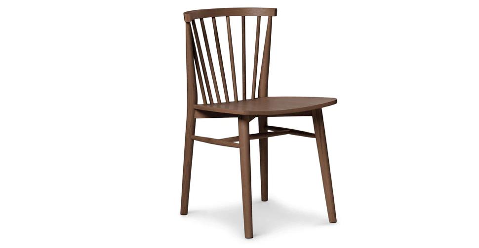 Rus Matte Walnut Dining Chair In 2020 Walnut Dining Chair Scandinavian Dining Chairs Dining Chairs