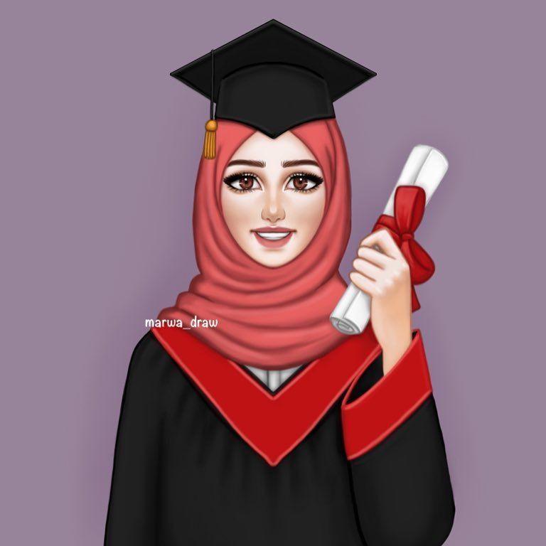 Pin Oleh Ayesha Di Hijabs Gambar Kartun Gambar Kartun