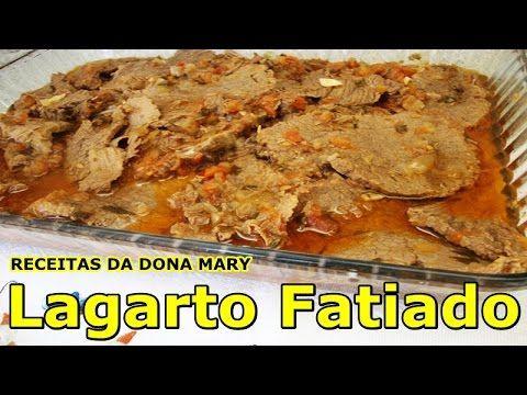 Receitas da Dona Mary #06   Lagarto Fatiado