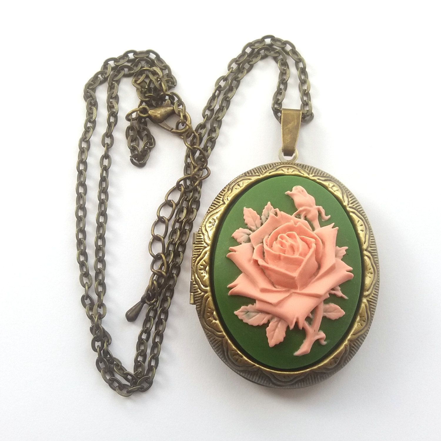 rose lockets lyst gallery goldmulti gold stone side monica normal rich necklace quartz dual jewelry yellow doublet locket kosann product