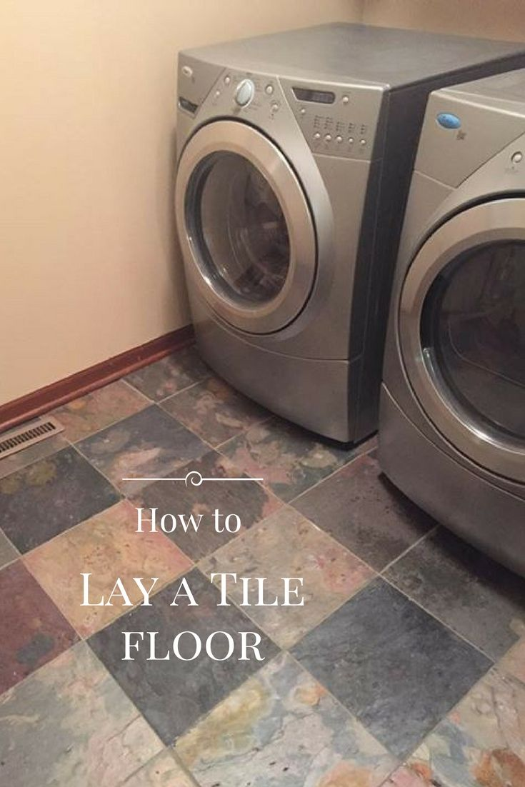 How to lay a tile floor tile flooring patience and crafts how to lay a tile floor dailygadgetfo Image collections