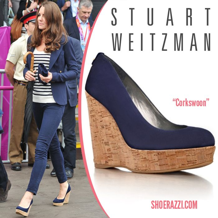 d9aa2e512a6c Kate Middleton in Stuart Weitzman….NOTE  KATE LIKED HER WEDGIES… QUEEN  ELIZABETH DID NOT ……ccp