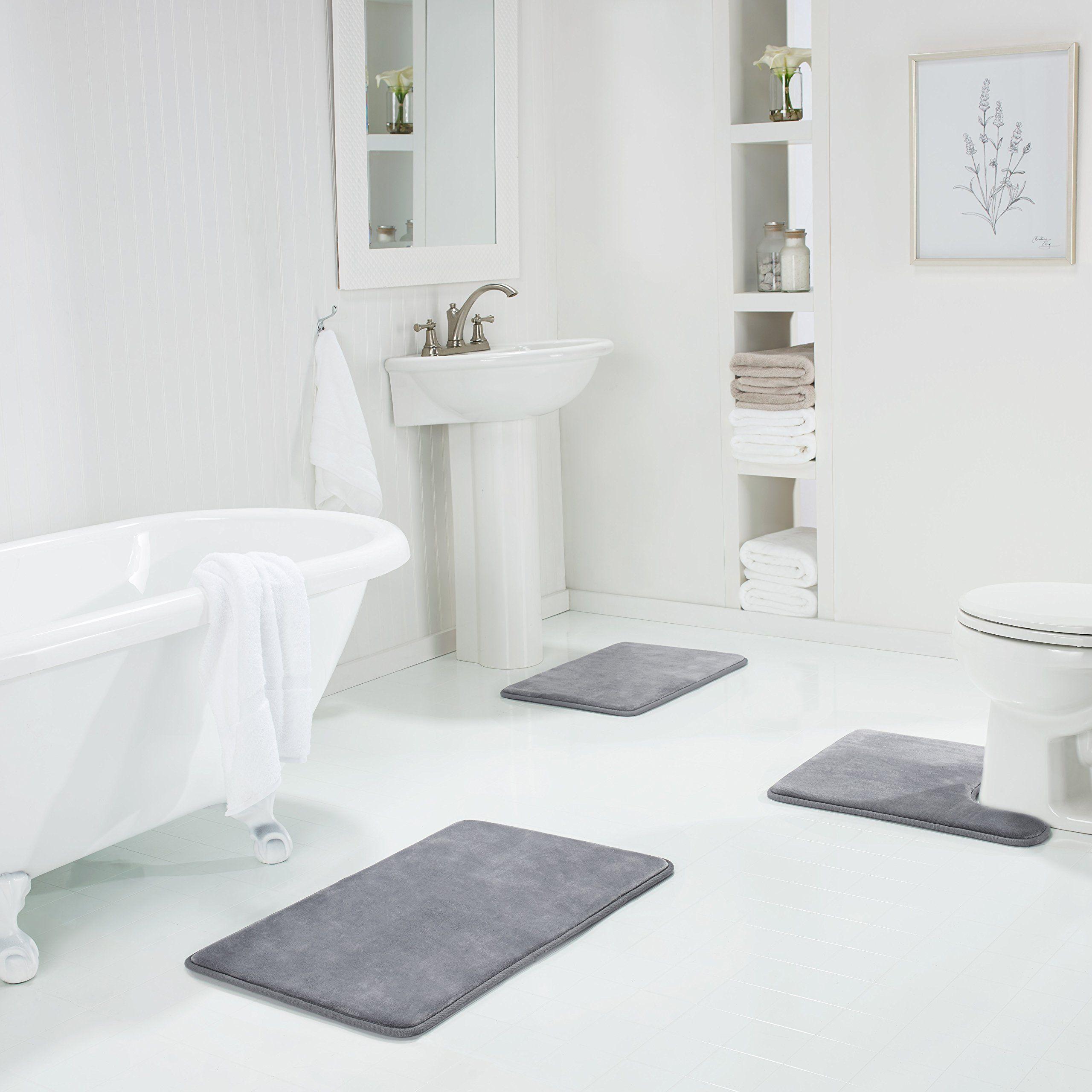 Bath Mats Non Skid For Tub For Kids Mildew Resistant Microfiber Noodle Bathroom Rugs Blue Machine Washable 31 5 Bathroom Rugs Shaggy Bath Rugs Rugs On Carpet