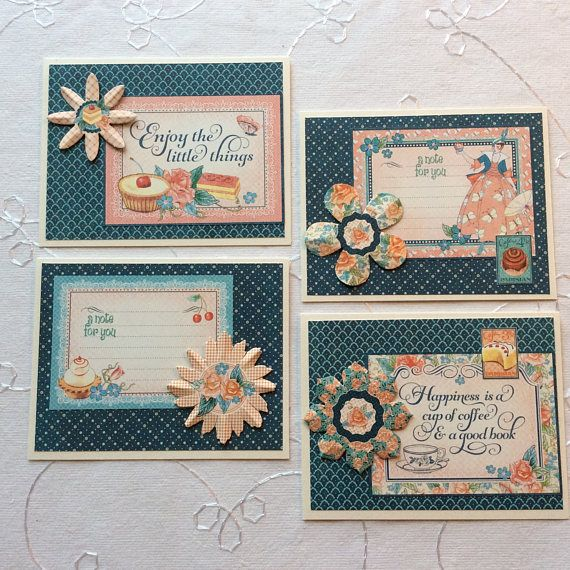 These pretty note cards can be used for many purposes - thank you