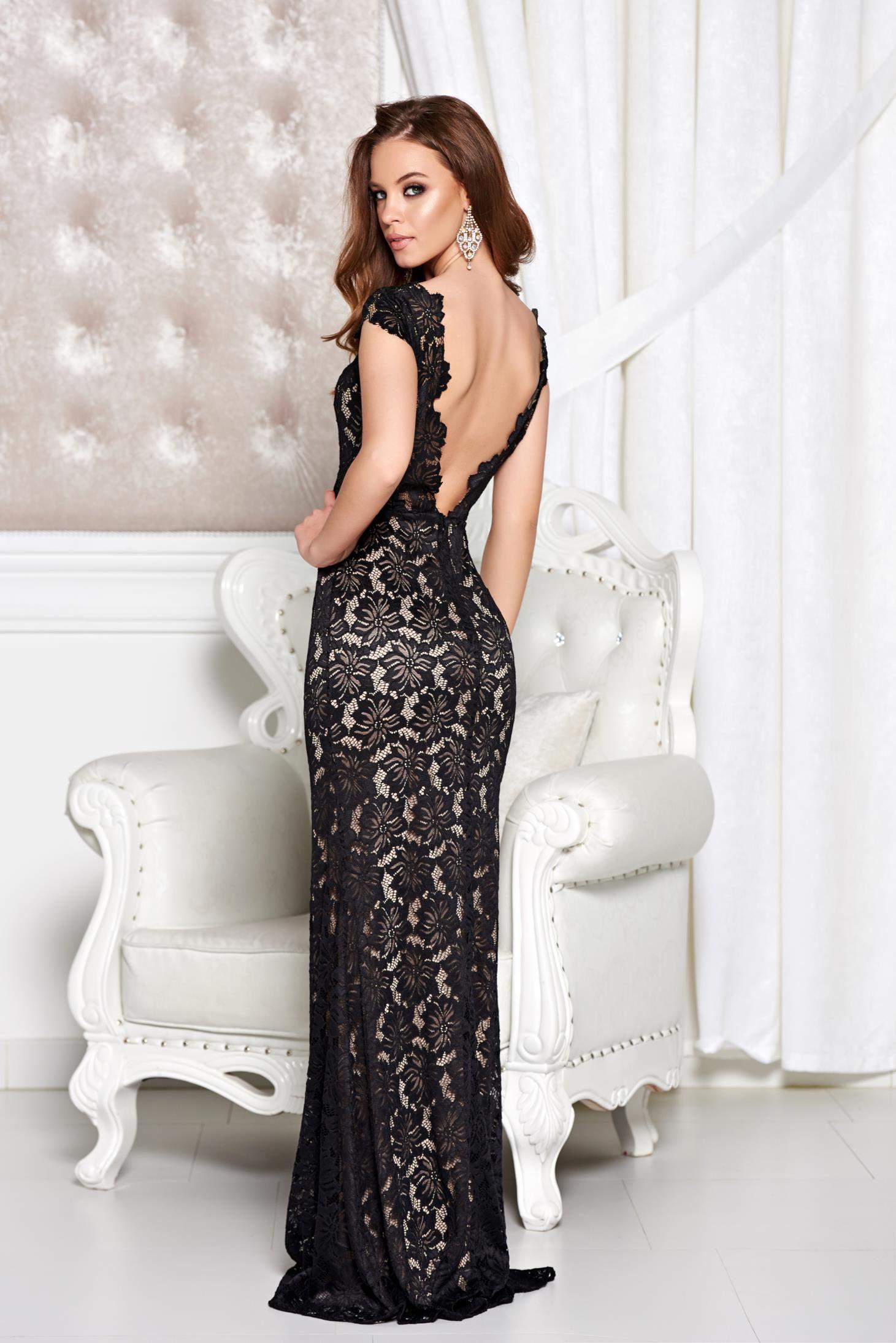 Comanda online, Rochie StarShinerS Special Sirene Black. Articole masurate, calitate garantata!
