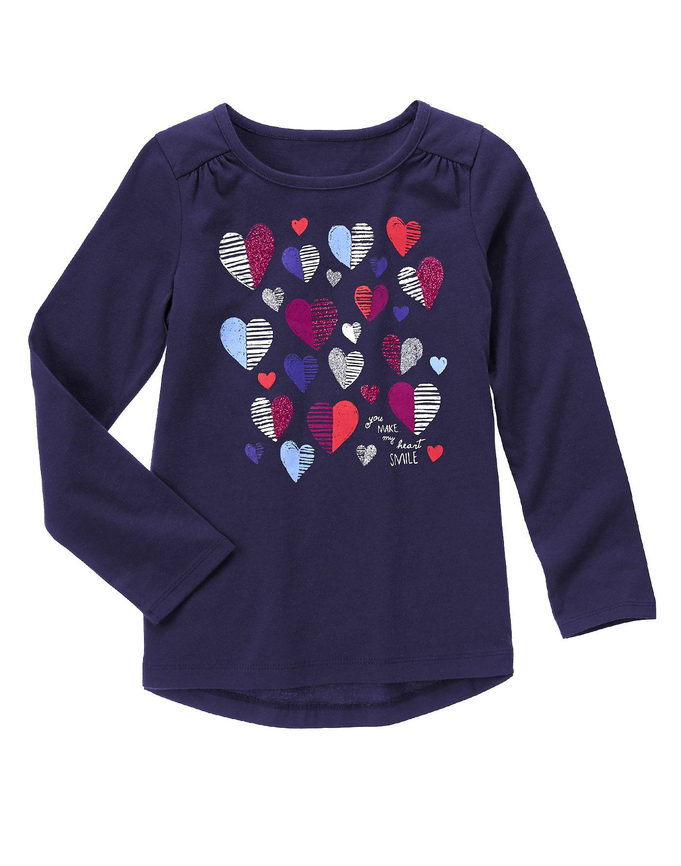 16fb82b181a Heart Print Tee at Gymboree