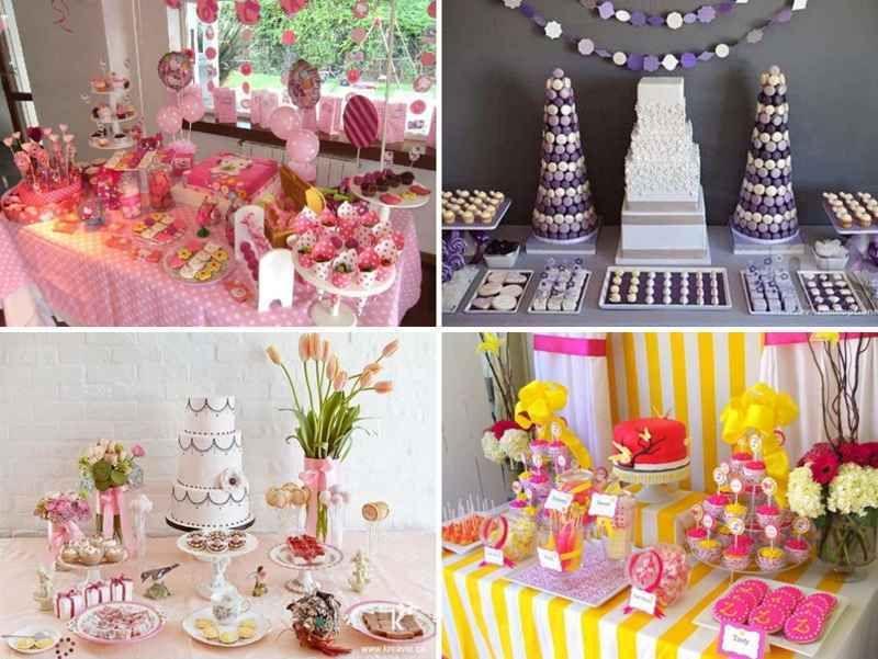 Decoracion de mesas de dulces 12 tile decoraciones de - Decoraciones de mesas ...