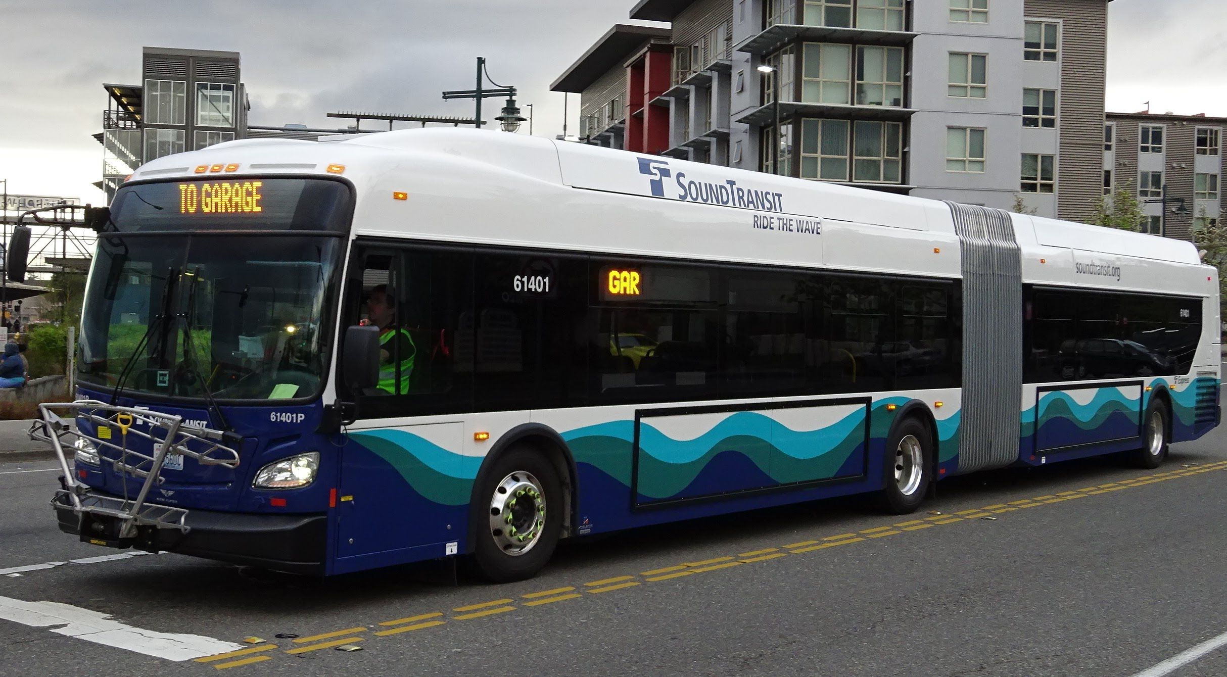 Revival Of The Artics Sound Transit Brand New 2015 New Flyer