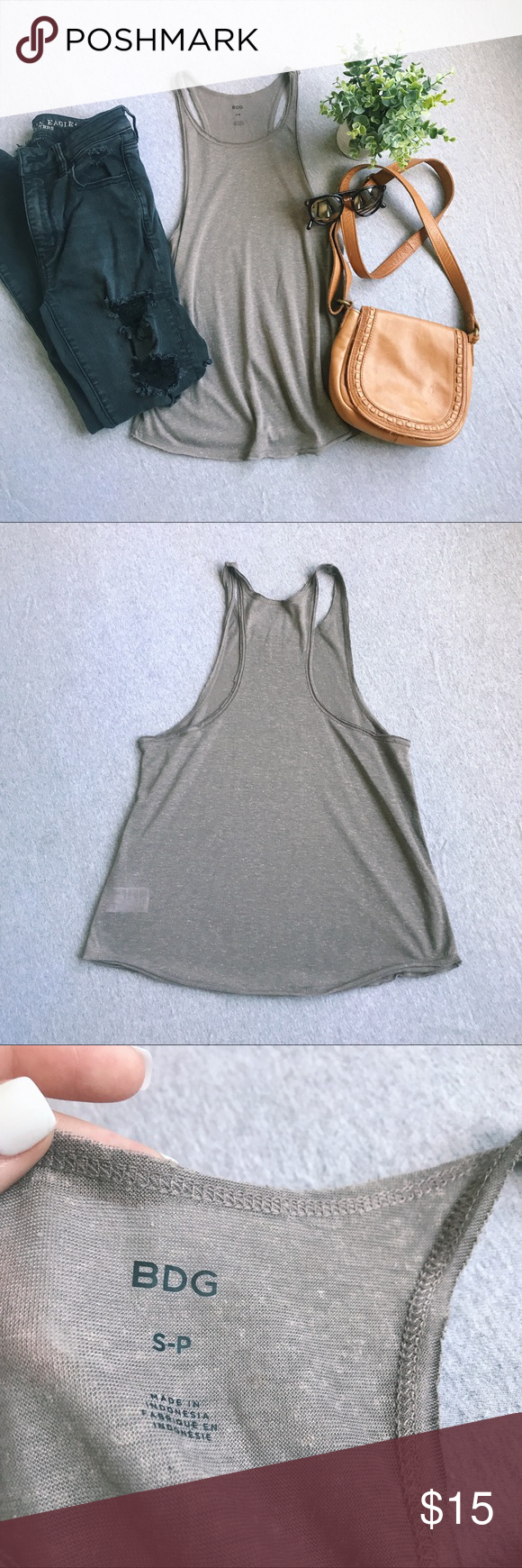 Urban Renewal (UO) Tank Top   Tops, Urban outfitters tops