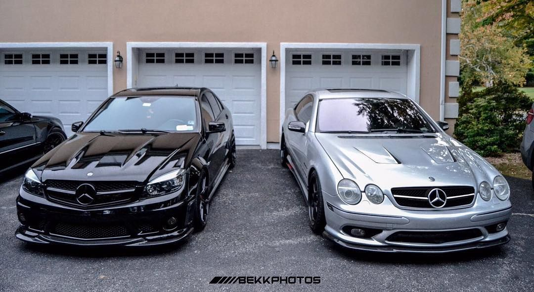 C63 vs CL55 Stage 3 | Mercedes Benz | Mercedes c63, Merc