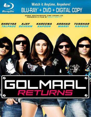 Golmaal Returns 2008 Hindi 720p Brrip Esubs Watch Hindi