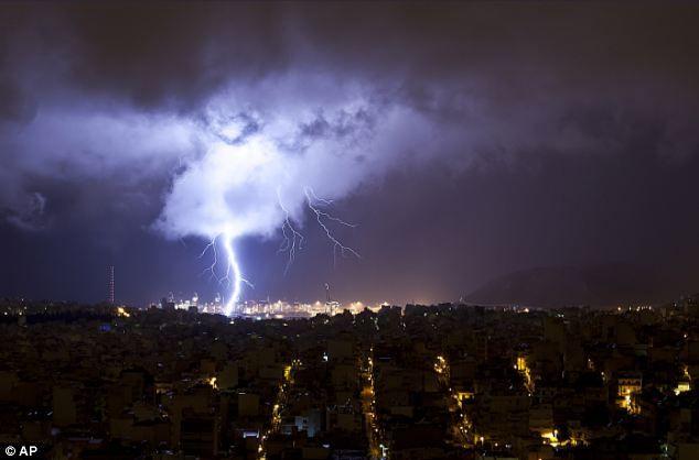 Αποτέλεσμα εικόνας για athens   storm
