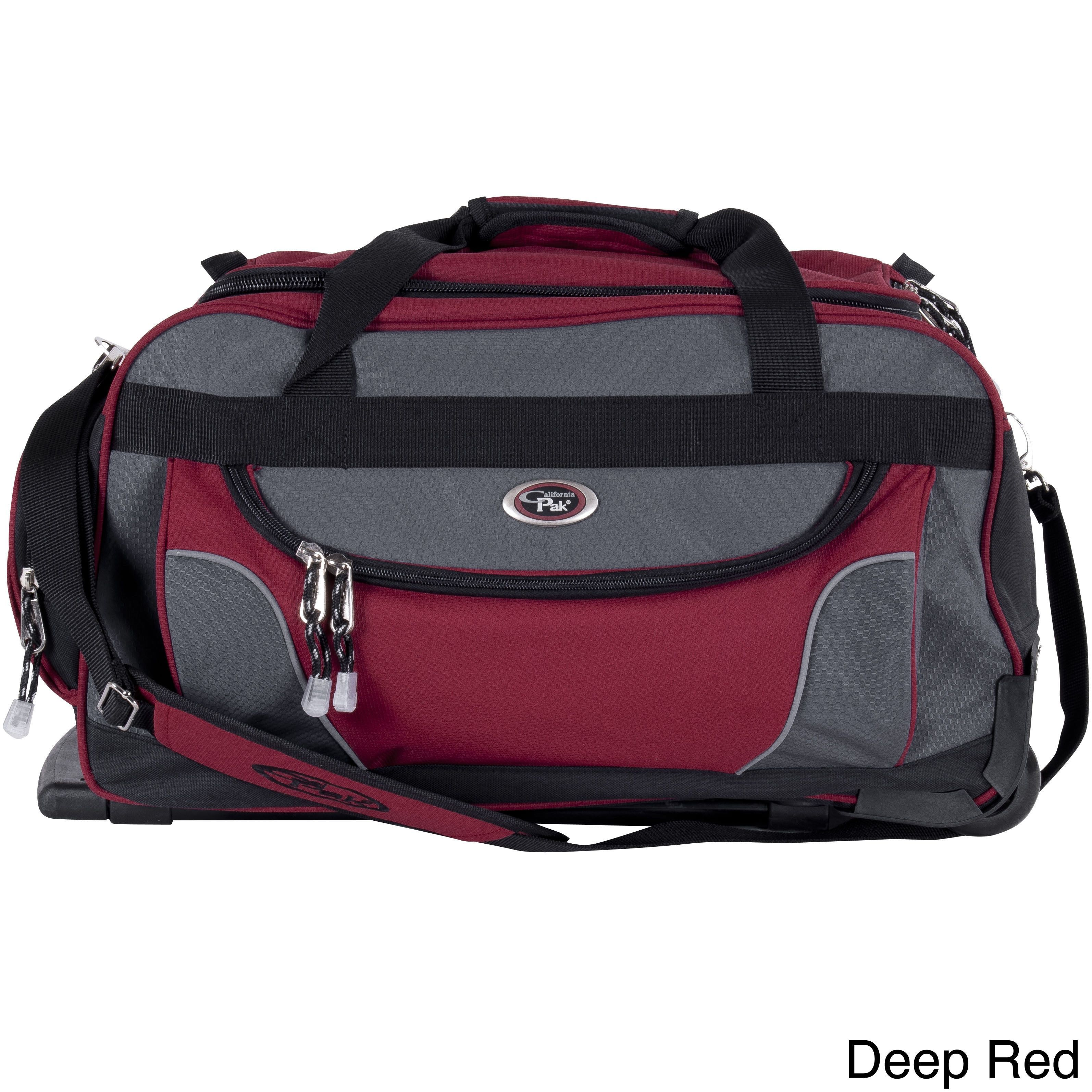 CalPak Champ 21-inch Carry On Rolling Upright Duffel Bag   Products ... 786143062f