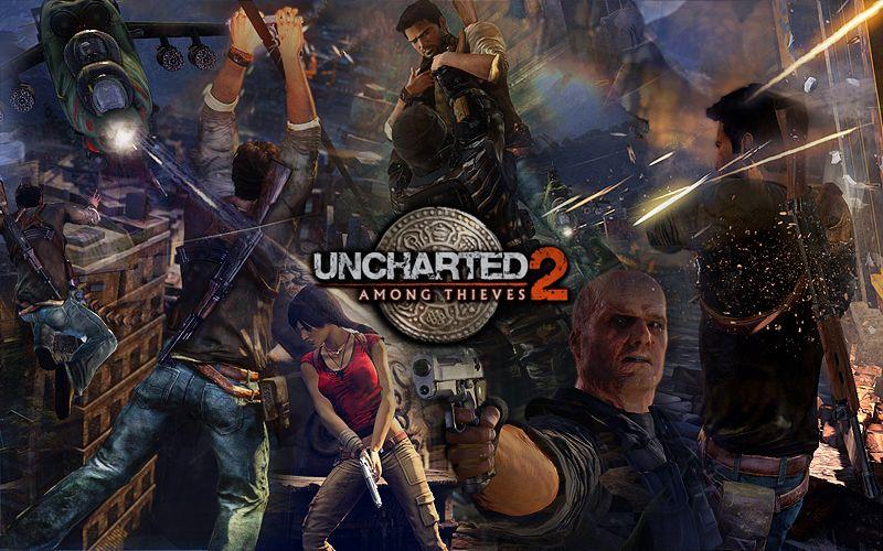 Uncharted 2 Among Thieves by ll-BANANA-ll.deviantart.com on @DeviantArt